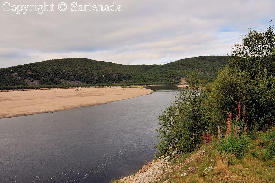 Tana river / Río Tana / Le Teno