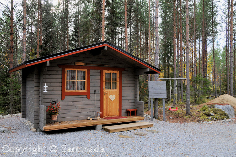 Little princess' own cabin