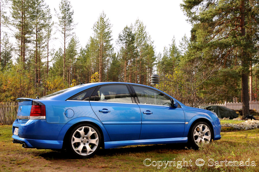Finally at home after driving 820 km in a day. Thank You Opel Vectra OPC! You made it easy for us.