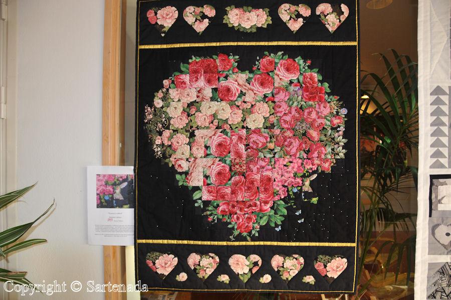 Quilt and patchwork exhibitions (Raisio) / Exposiciónes de Colchas y almazuelas (Raisio) / Expositions de courtepointes(Raisio)