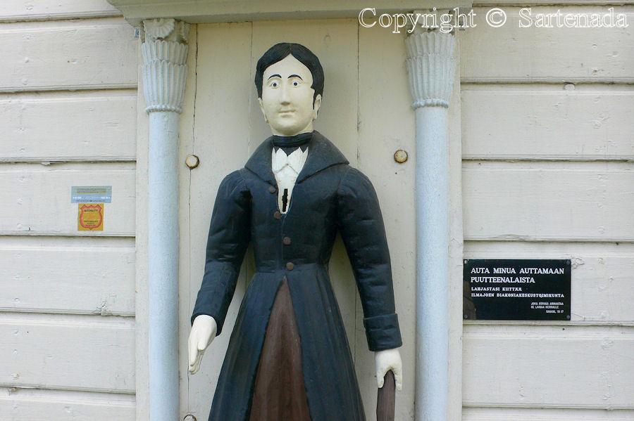 Ilmajoki - Poor man-statues / Estatuas de pobre hombre / Statues de Pauvre Homme