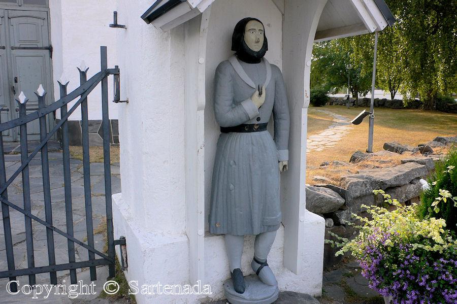 Kokkola (Kaarlela) - Poor-man statues / Estatuas de pobre hombre / Statues de Pauvre Homme