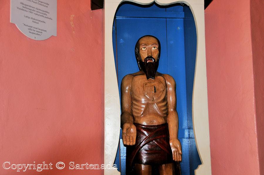Noormarkku - Poor-man statues / Estatuas de pobre hombre / Statues de Pauvre Homme