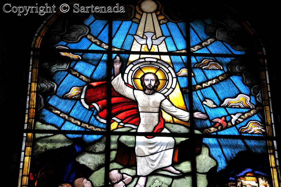 Espoo - Stained glass windows in Finnish churches / Vitrales de iglesias finlandesas / Vitraux des églises finlandaises