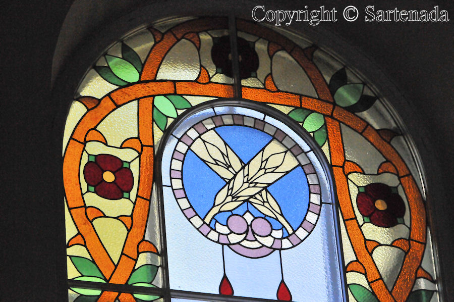 Loppi - Stained glass windows in Finnish churches / Vitrales de iglesias finlandesas / Vitraux des églises finlandaises
