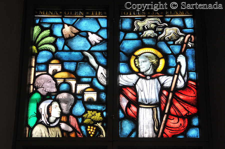 Noormarkku - Stained glass windows in Finnish churches / Vitrales de iglesias finlandesas / Vitraux des églises finlandaises