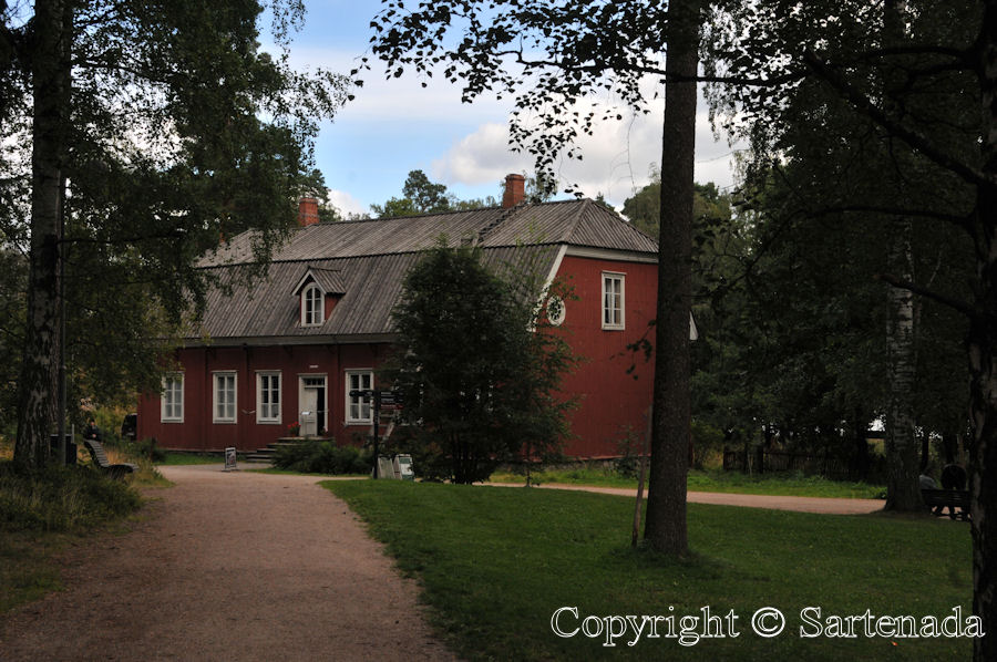 Seurasaari Open-Air Museum /  Seurasaari Museo al aire libre / Musée en plein air de Seurasaari