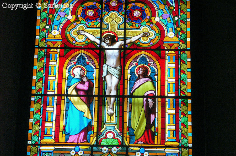Turku - Stained glass windows in Finnish churches / Vitrales de iglesias finlandesas / Vitraux des églises finlandaises