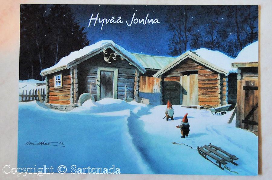 Old Christmas postcards / Viejas tarjetas postales de Navidad / Vieilles cartes postales de Noël