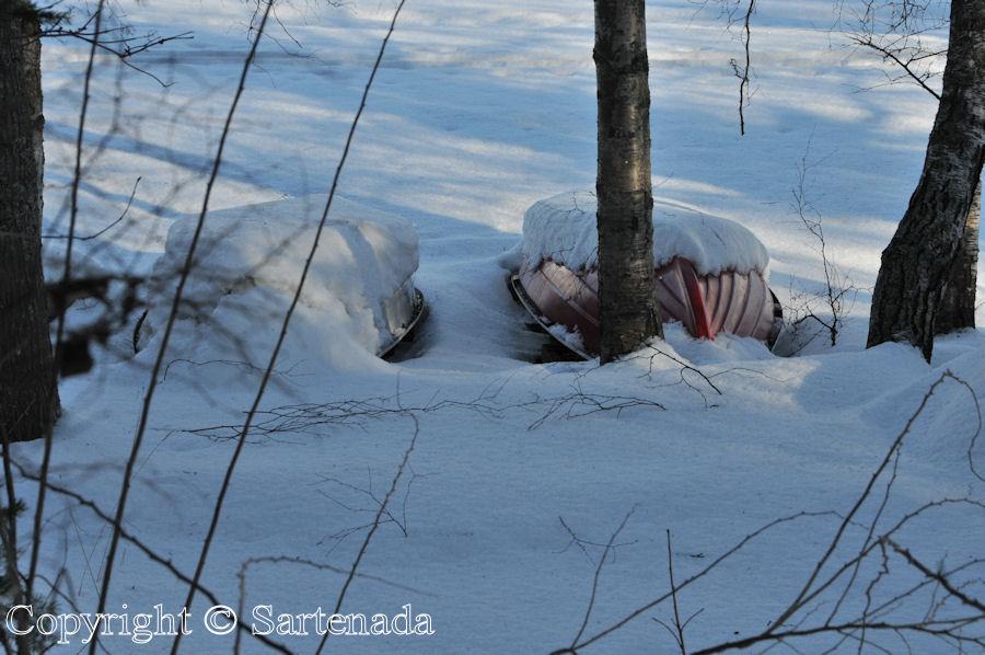 Lake Vanajavesi  in winter / Lago Vanajavesi en invierno / Lac Vanajavesi en hiver