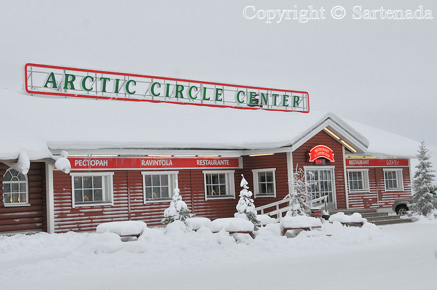Arctic Circle in winter / Círculo Polar Ártico en invierno / Cercle Arctique en hiver