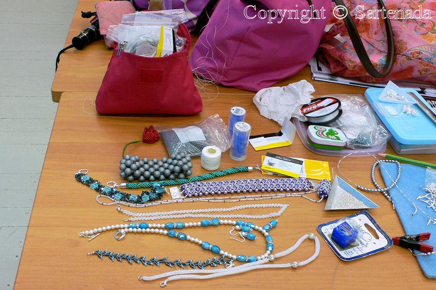 Beading work shop / Curso de Abalorio / Cours de Perles