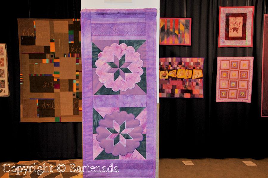 Patchwork and quilt show Summer 2012 / Exposición de Colchas y almazuelas de verano 2012 / Exposition de courtepointes de l'ètè 2012