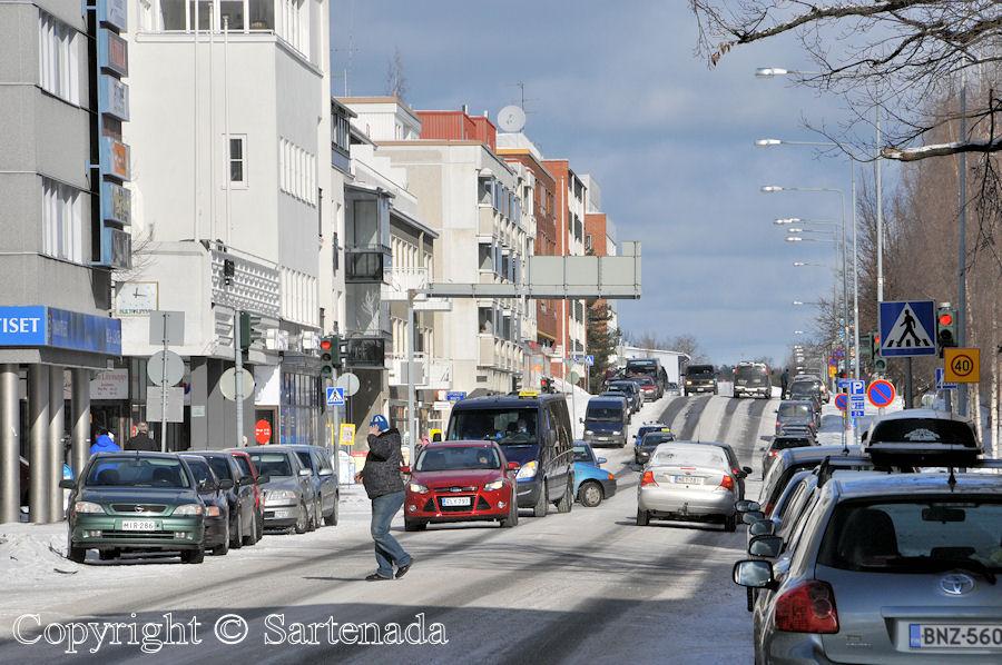 Winter walk in Mikkeli / Paseo de invierno en Mikkeli / Balade hivernale à Mikkeli