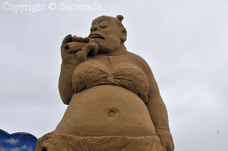 Sand sculptures 2014 / Esculturas de Arena 2014 / Sculptures de sable 2014 / Esculturas de Areia 2014