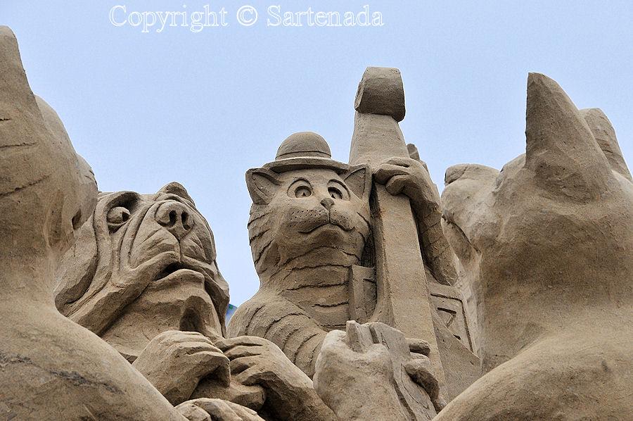 Sand sculptures 2014 / Esculturas de Arena 2014 / Sculptures de sable 2014 / Esculturas_de_Areia 2014