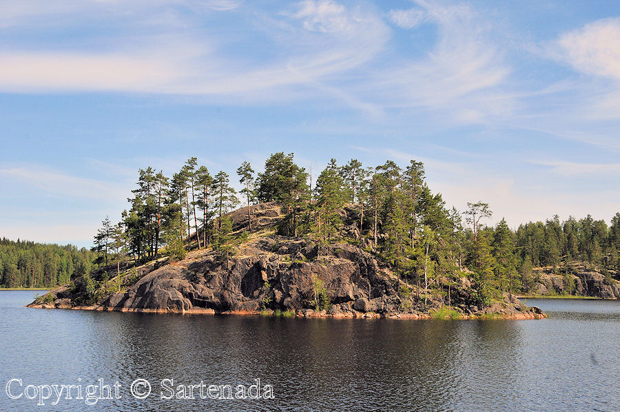 Finnish Lakeland / Región de Lagos / Région des lacs / Distrito dos lagos