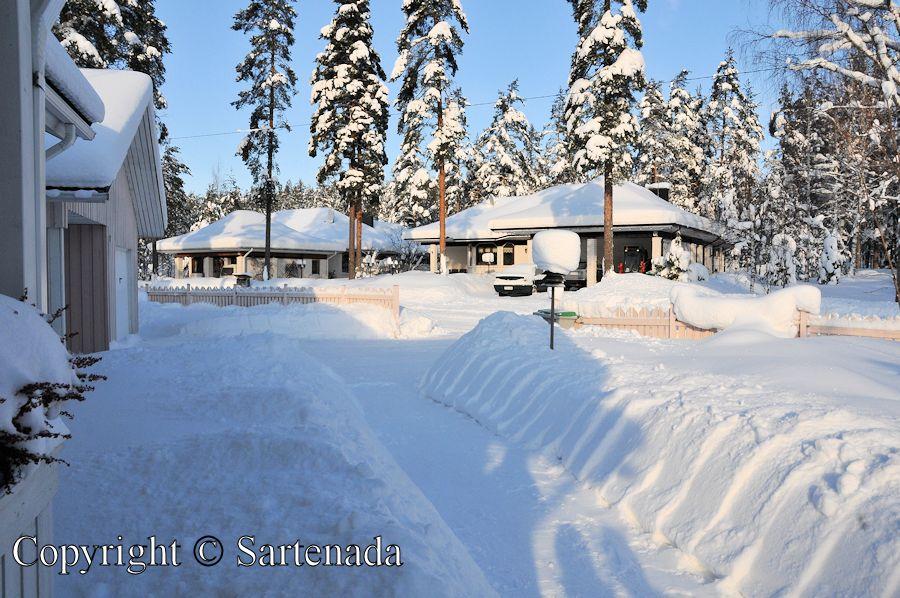 Snow in Finland / Nieve en Filandia / Neige en Finlande / Neve na Finlândia
