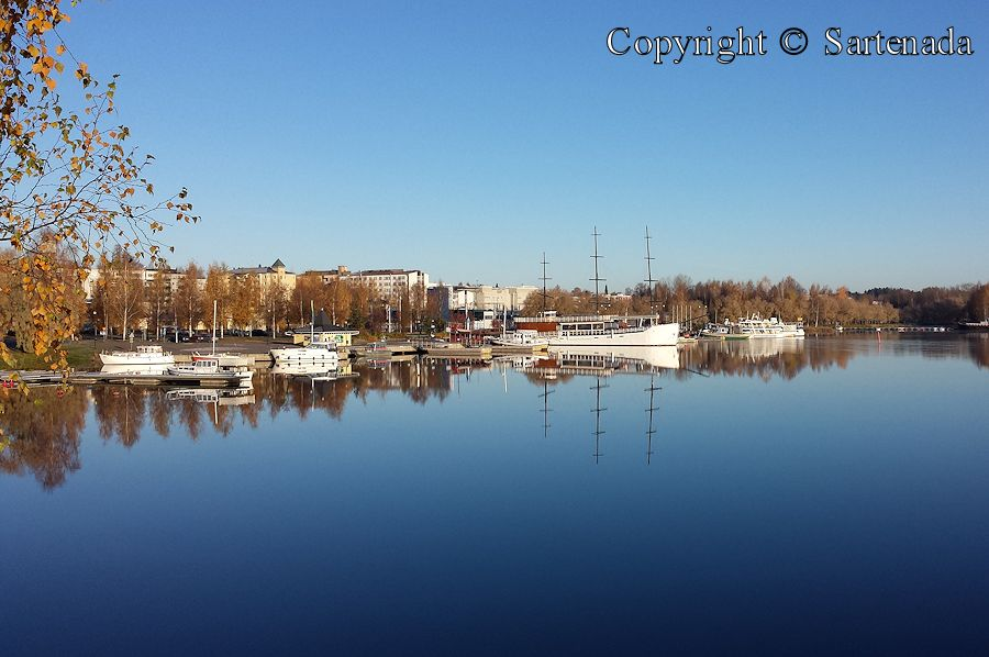 Mikkeli port in mid-October 2014