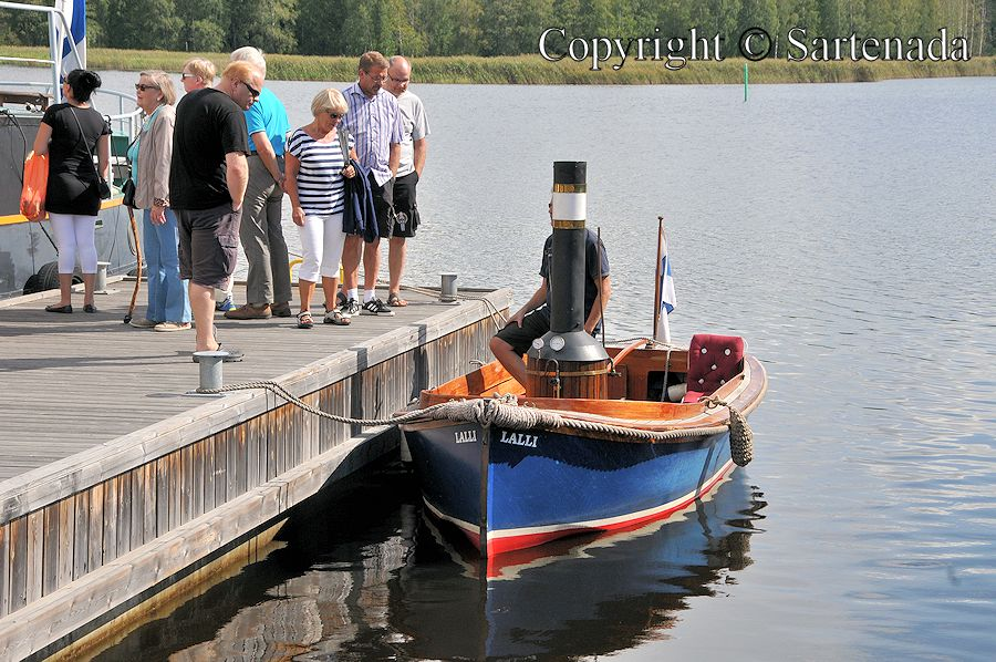 Steam ships visit Mikkeli / Barcos de vapor visitan en Mikkeli / Bateaux à vapeur visitent à Mikkeli / Barcos a vapor visitam em Mikkeli