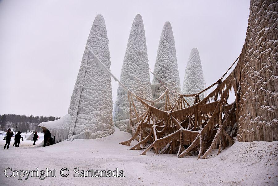 World's tallest ice Cathedral / Catedral de hielo más alta del mundo  / Plus haute cathédrale de glace du monde / Maior catedral de gelo do mundo
