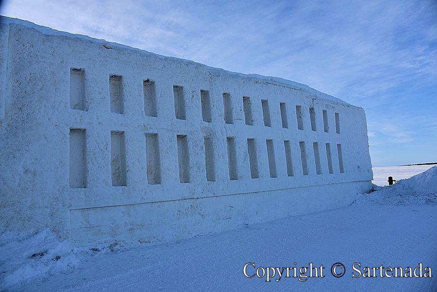 Snow Castle, Castillo de Nieve, / Château de Neige, Castelo de Neve