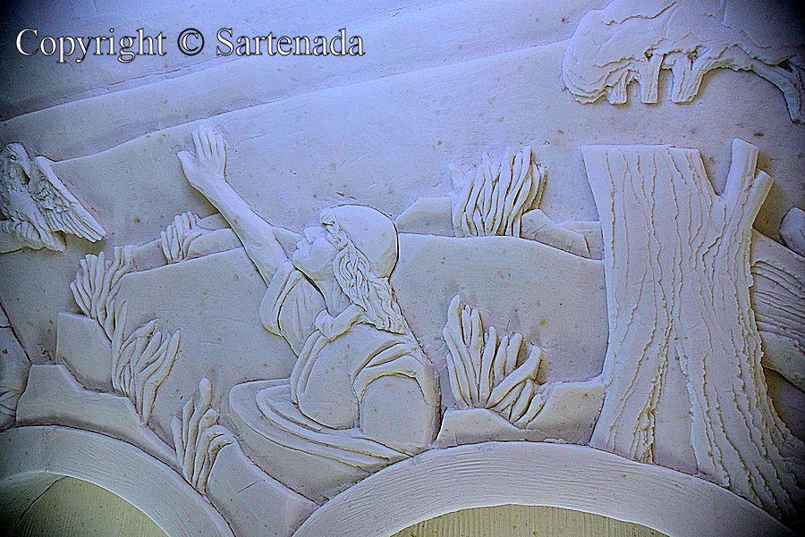Snow art, arte de nieve, art de neige, arte de neve