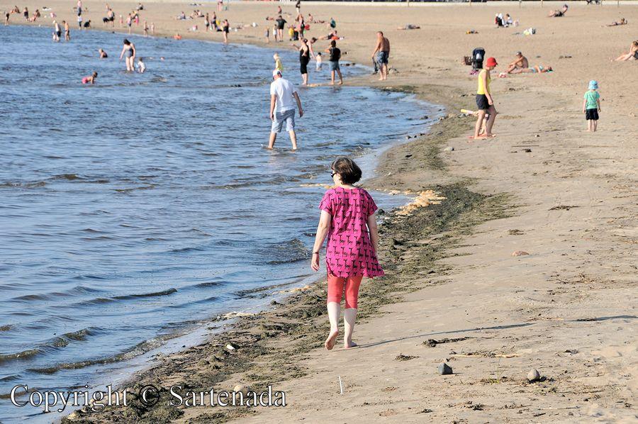 Arctic beach of Nallikari / Playa ártica de Nallikari / Plage arctique de Nallikari / Praia árctica de Nallikari