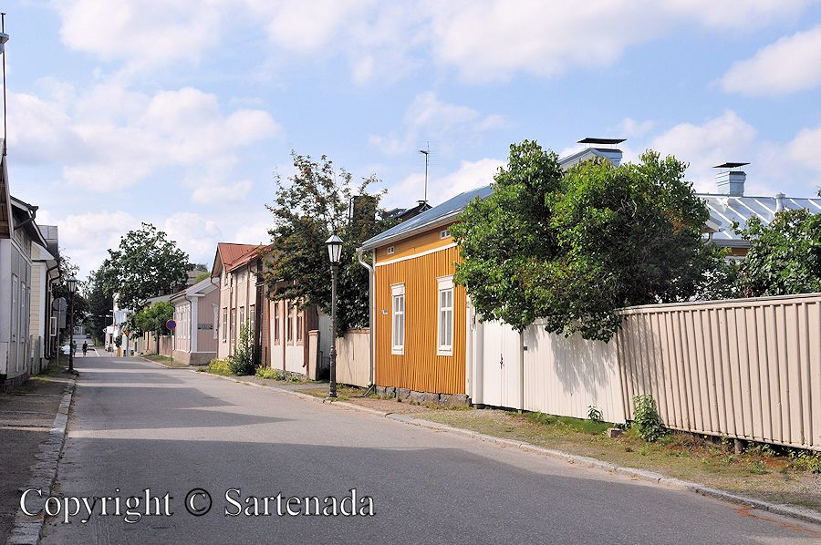 Neristan Old Town in Kokkola / Neristan Ciudad Antigua en Kokkkola / Neristan Vieille Ville de Kokkola / Cidade Velha em Kokkola