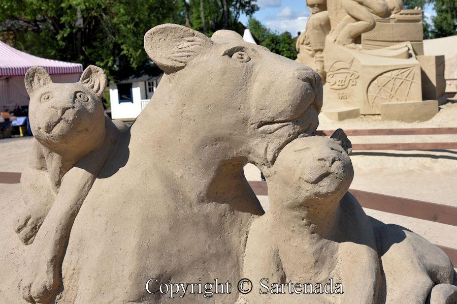 Sand sculptures 2015 / Esculturas de Arena 2015 / Sculptures de sable 2015 / Esculturas de Areia 2015
