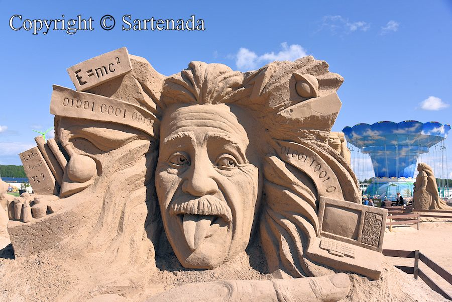 Sand sculptures in Lappeenranta