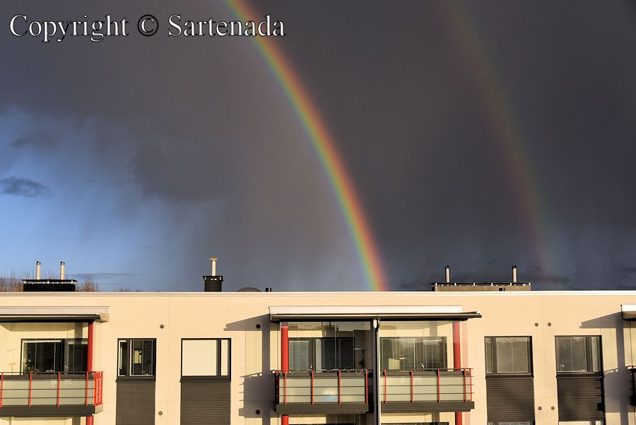 Double rainbow in Mikkeli