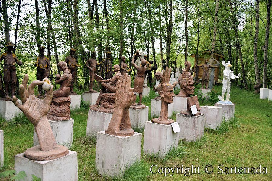 Sculpture park / Parque de esculturas / Parc de sculptures / Parque de Esculturas