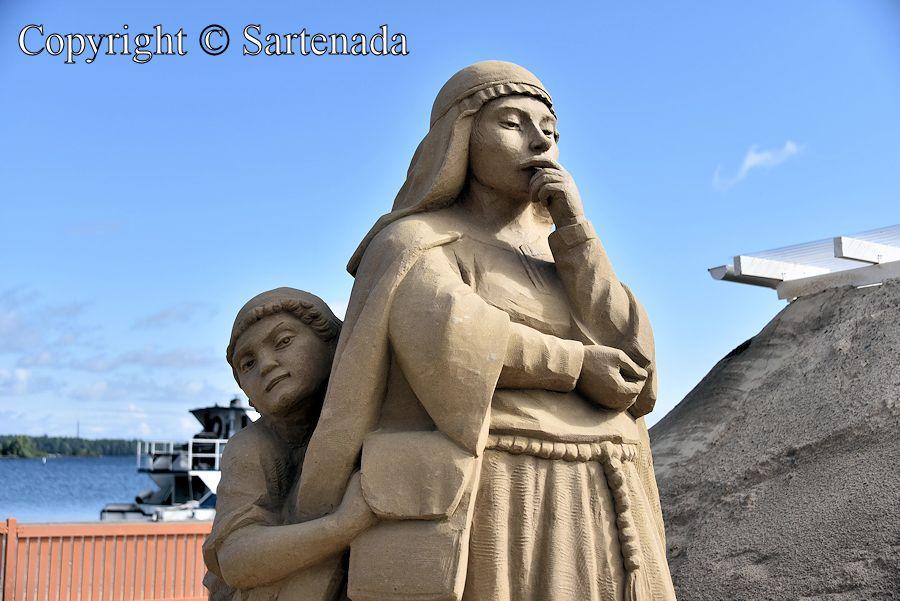 Sand sculptures 2016 / Esculturas de arena 2016 / Sculptures de sable 2016 / Esculturas de areia 2016