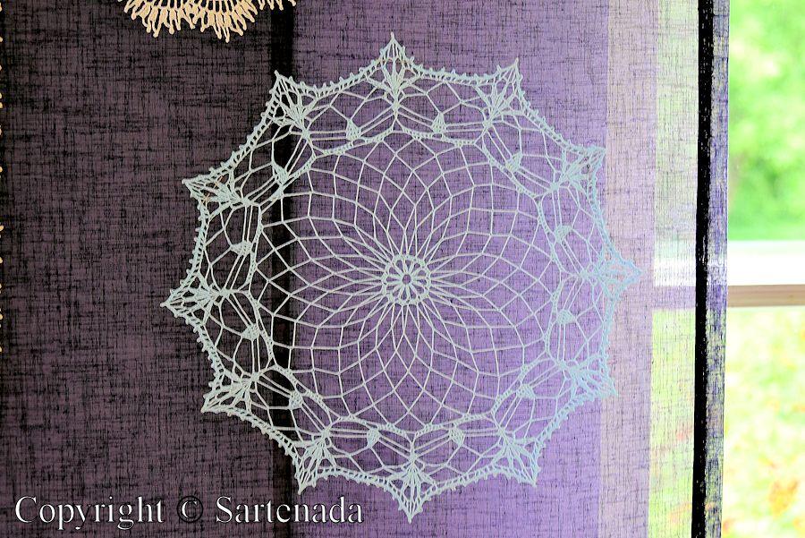 Hooked on lace / Enganchado en encaje / Accroché sur la dentelle / Enganchado na renda
