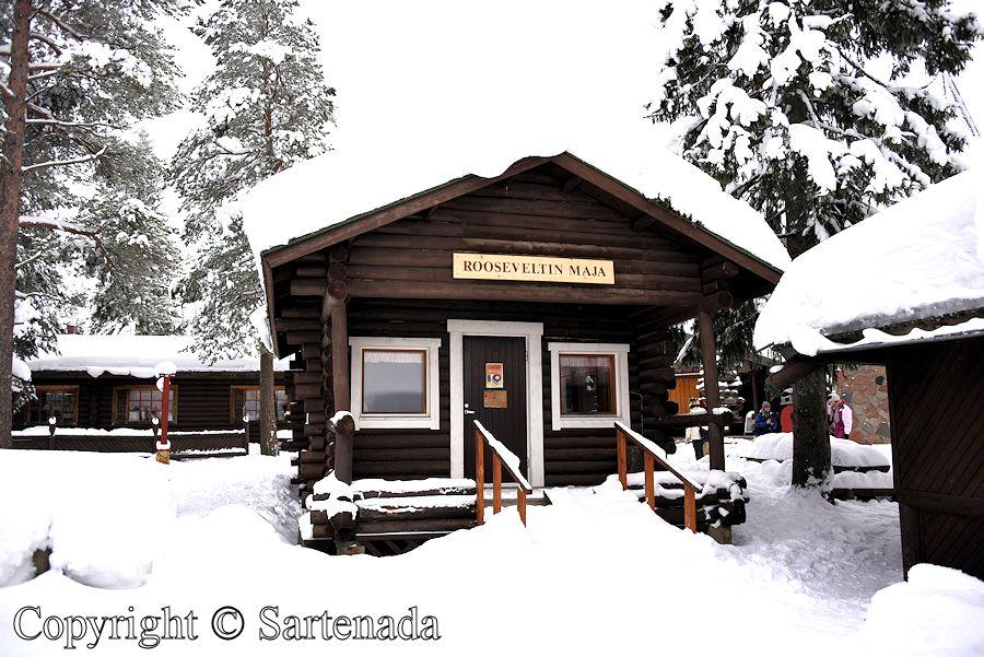 Roosevelt log Cabin / Cabaña de Roosevelt / Cabane de Roosevelt / Cabana de Roosevelt