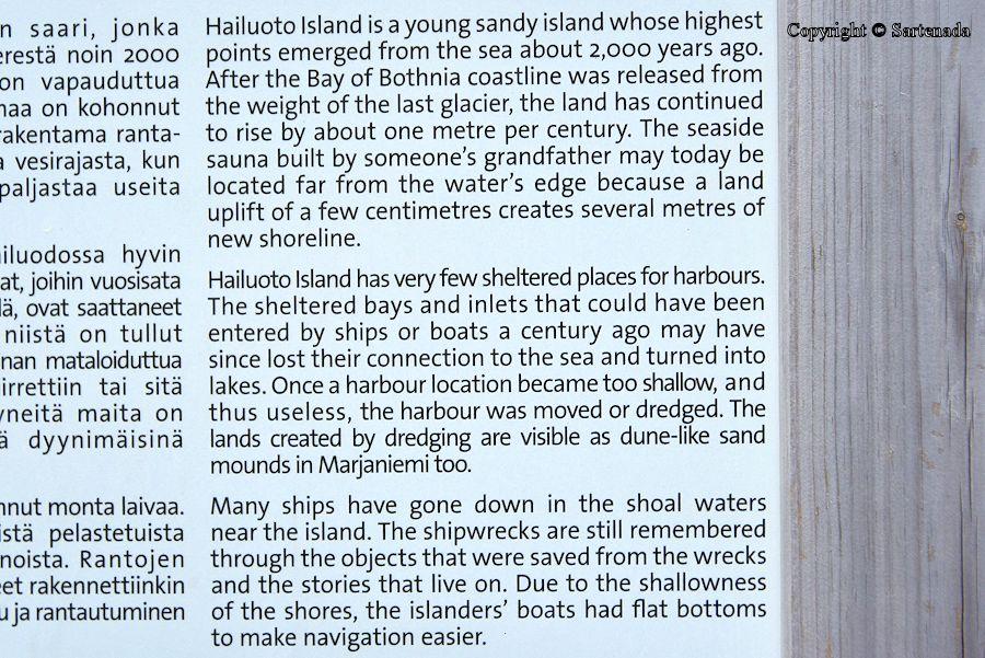 Hailuoto island / Isla de Hailuoto / Île de Hailuoto / Ilha de Hailuoto