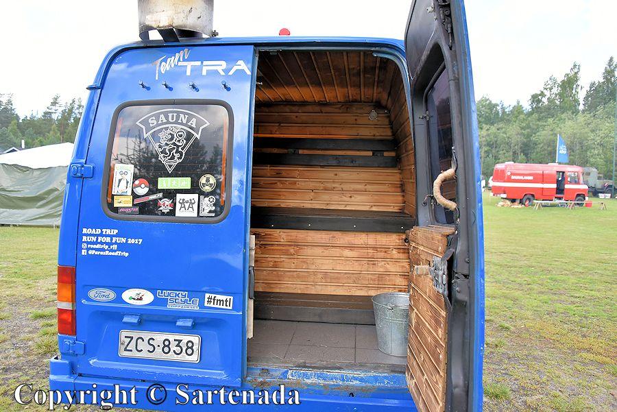 Saunas on wheels1 / Saunas sobre ruedas1 / Saunas sur roues1 / Saunas sobre rodas1