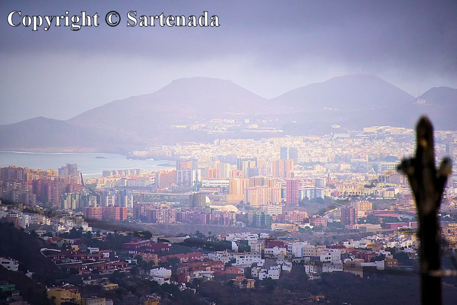 6. View from Bandama Caldera towards Las Palmas