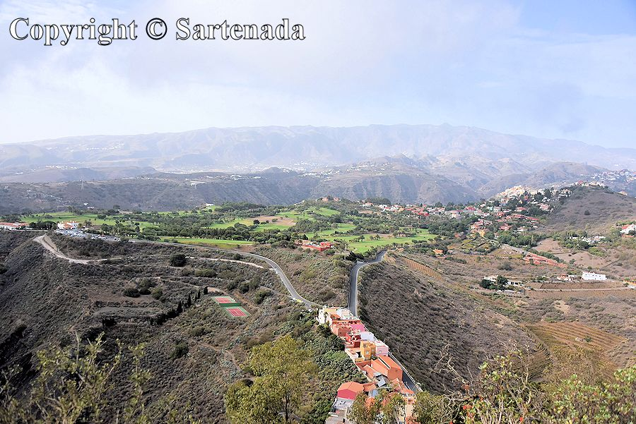 8. Panorama from Bandama Caldera