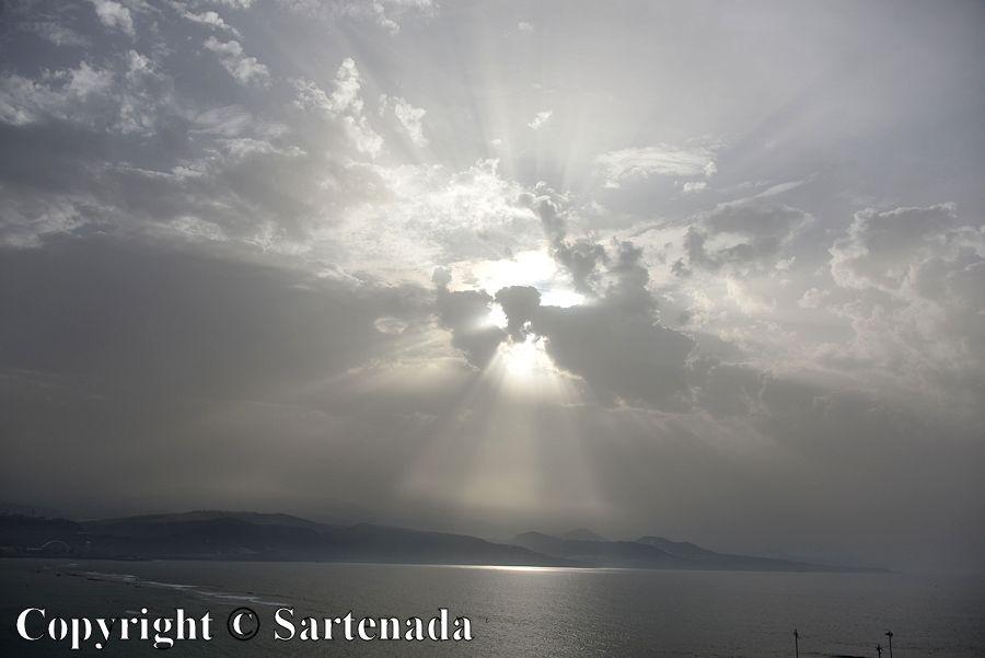 56. Sun rays
