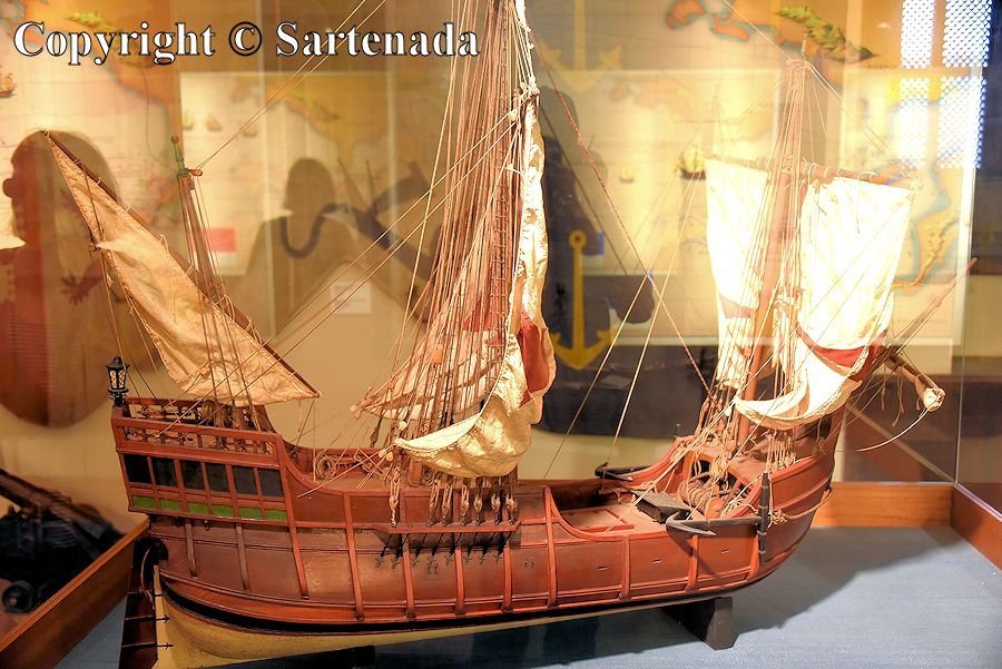 10. Columbus's museum - inside photos (Santa Maria possibly)