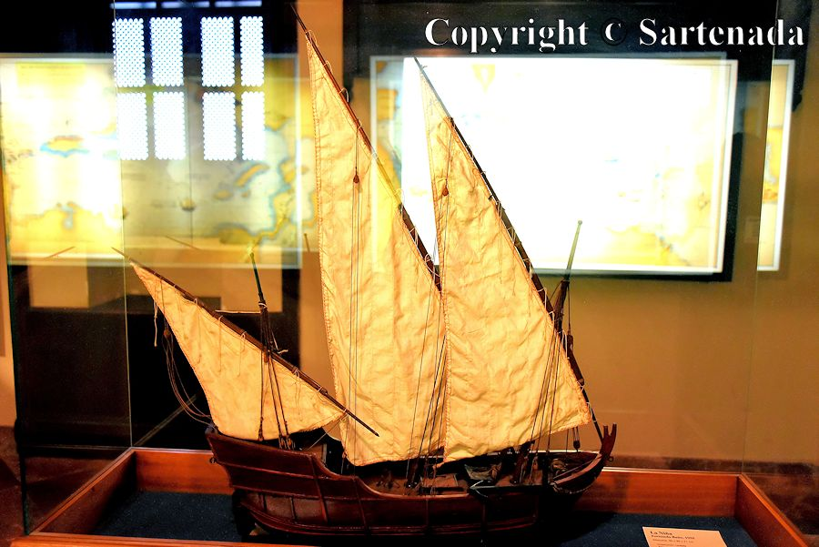 12. Columbus's museum - inside photos (Pinta possibly)