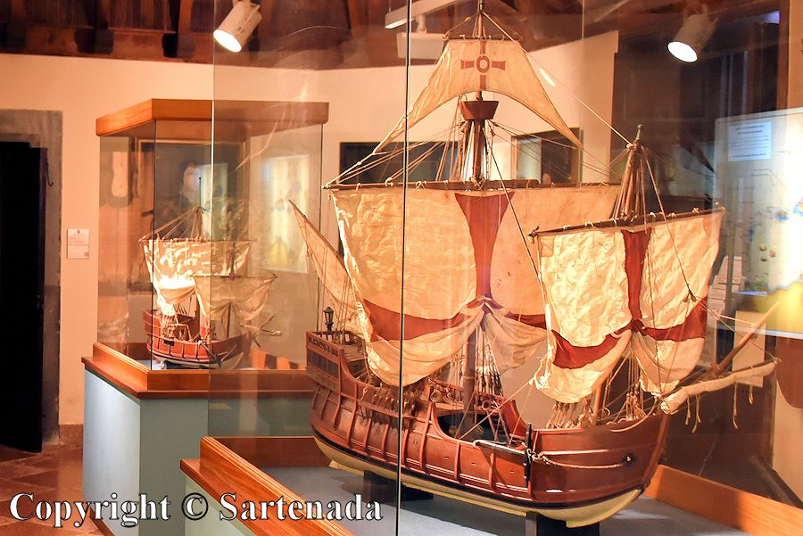 13. Columbus's museum - ships