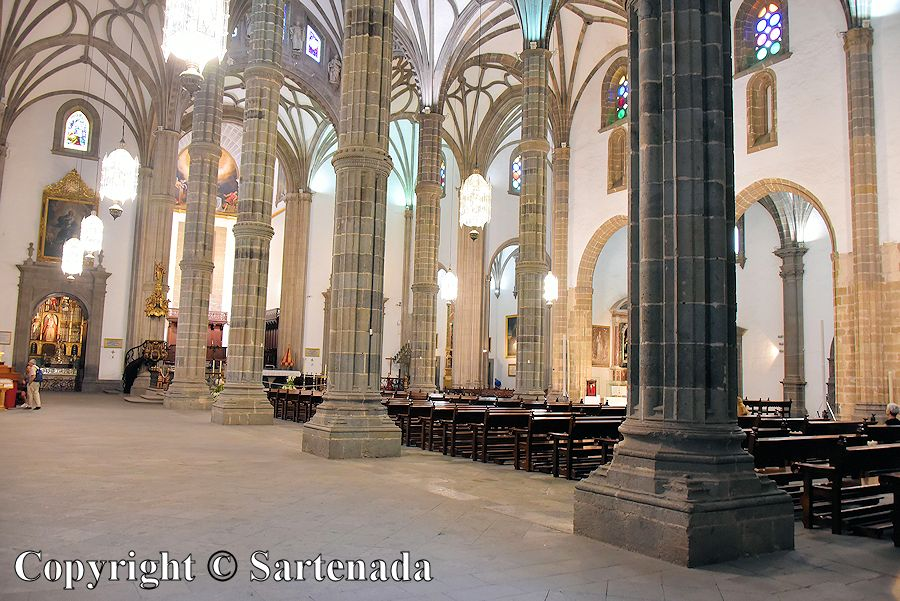 23. Inside photo from the Cathedral of Santa Ana
