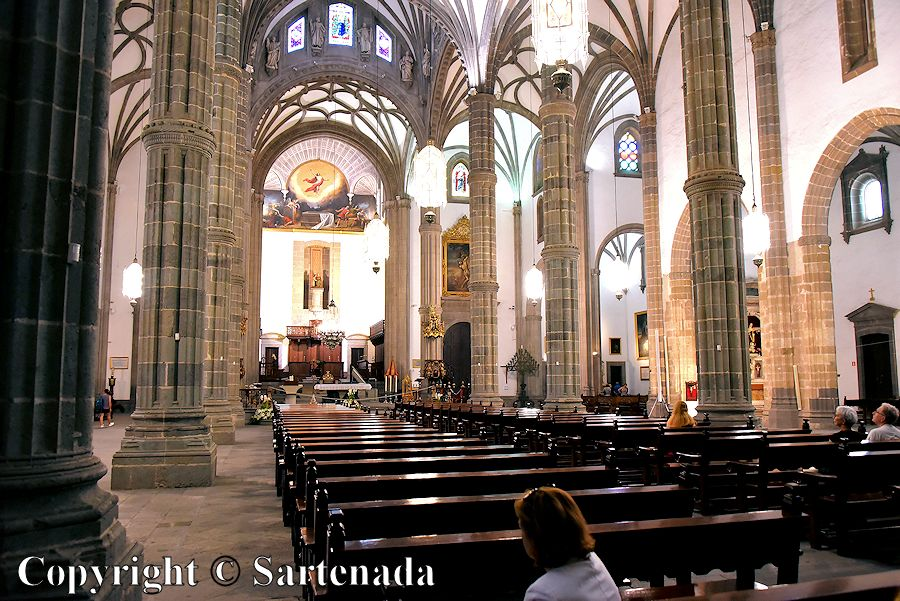24. Inside photo from the Cathedral of Santa Ana