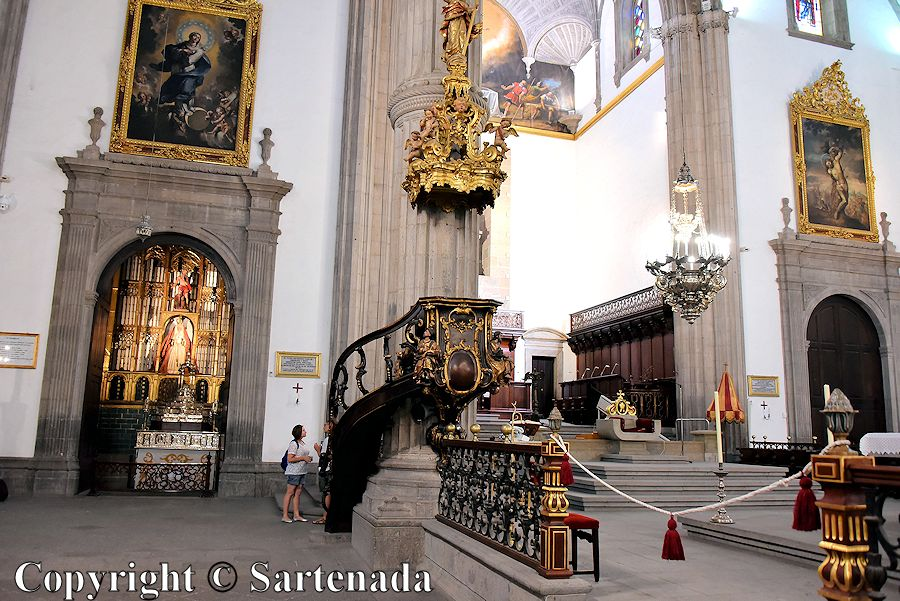 26. Inside photo from the Cathedral of Santa Ana