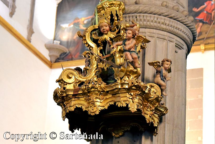 30. Inside photo from the Cathedral of Santa Ana