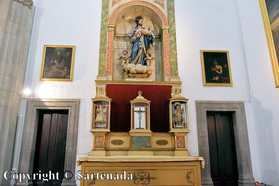 31. Inside photo from the Cathedral of Santa Ana