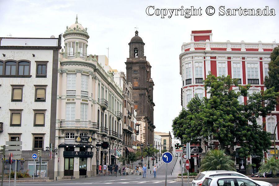 4. Las Plamas - old town